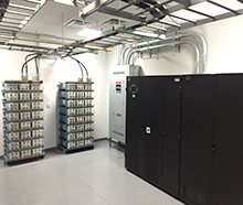 data center Liebert UPS Battery to ensure maximum uptime