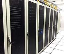 Secured Servers Cabinets at Carrierhouse Data Center